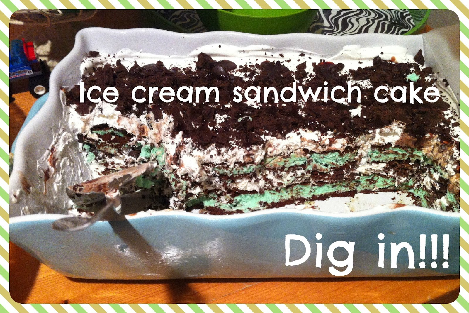 Ice Cream Sandwich Cake Images : Ice cream sandwich cake Joy s Hope
