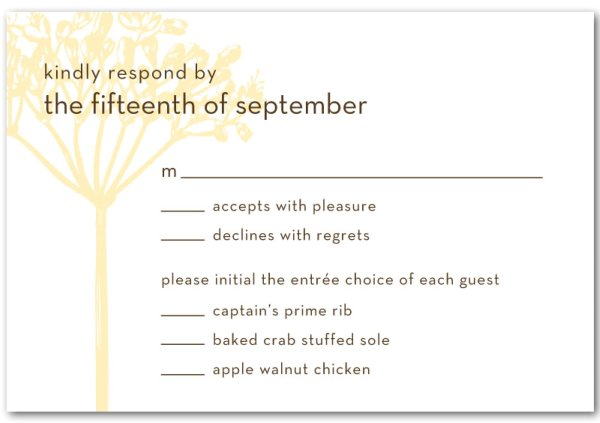 Dumb ht My Bosss Daughter Says July 2011 – Examples of Rsvp Cards for Weddings