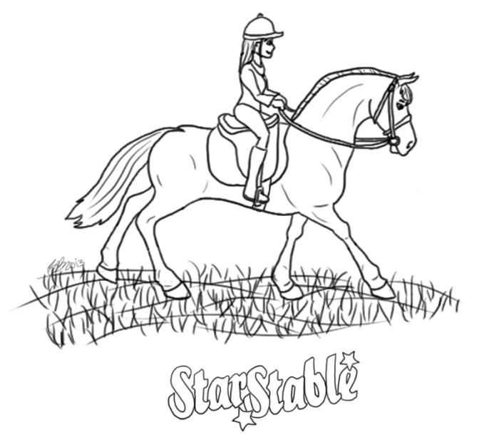 Star Stable Online Mel Kolorowanki