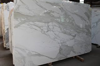 Calacatta Gold Polished Marble Slabs in New York