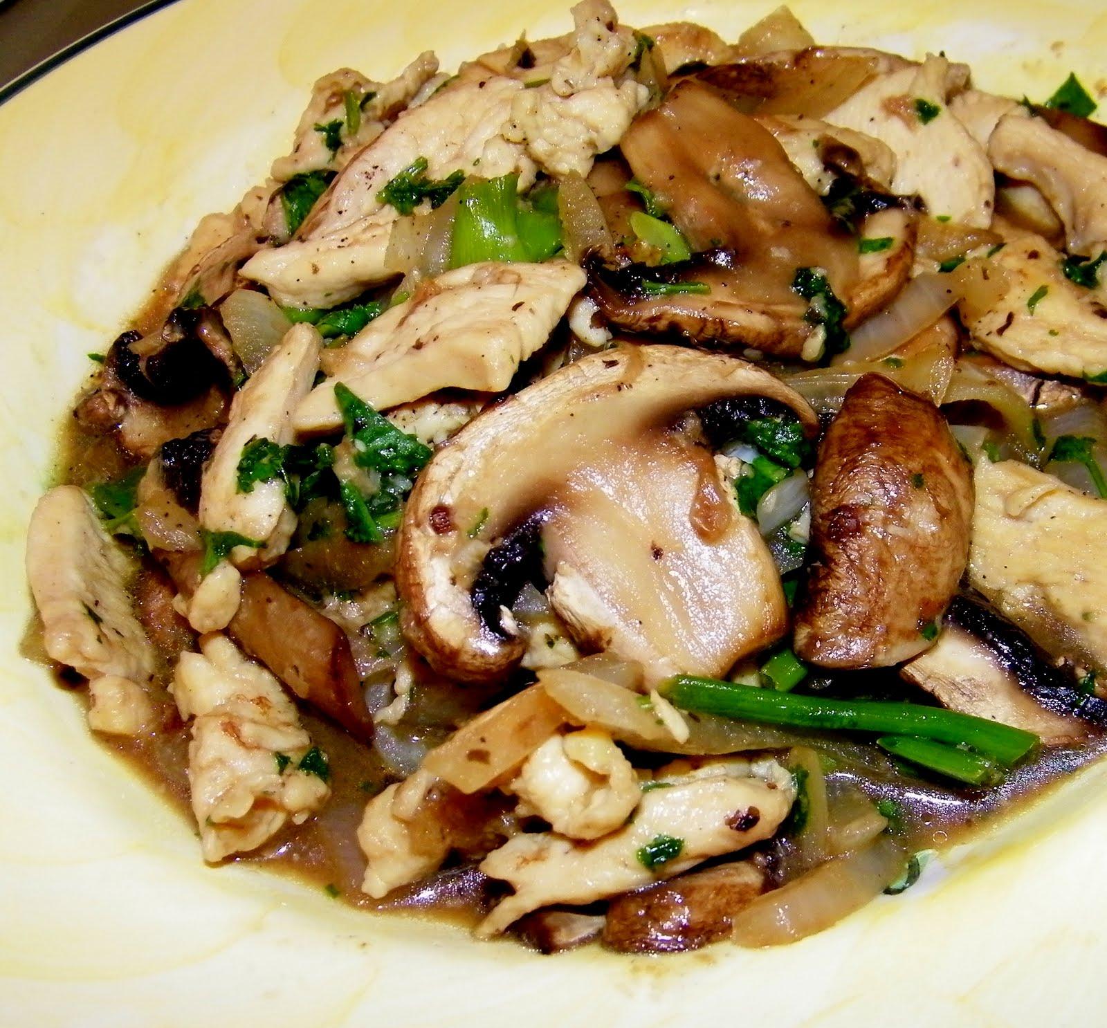 cremini mushrooms picture