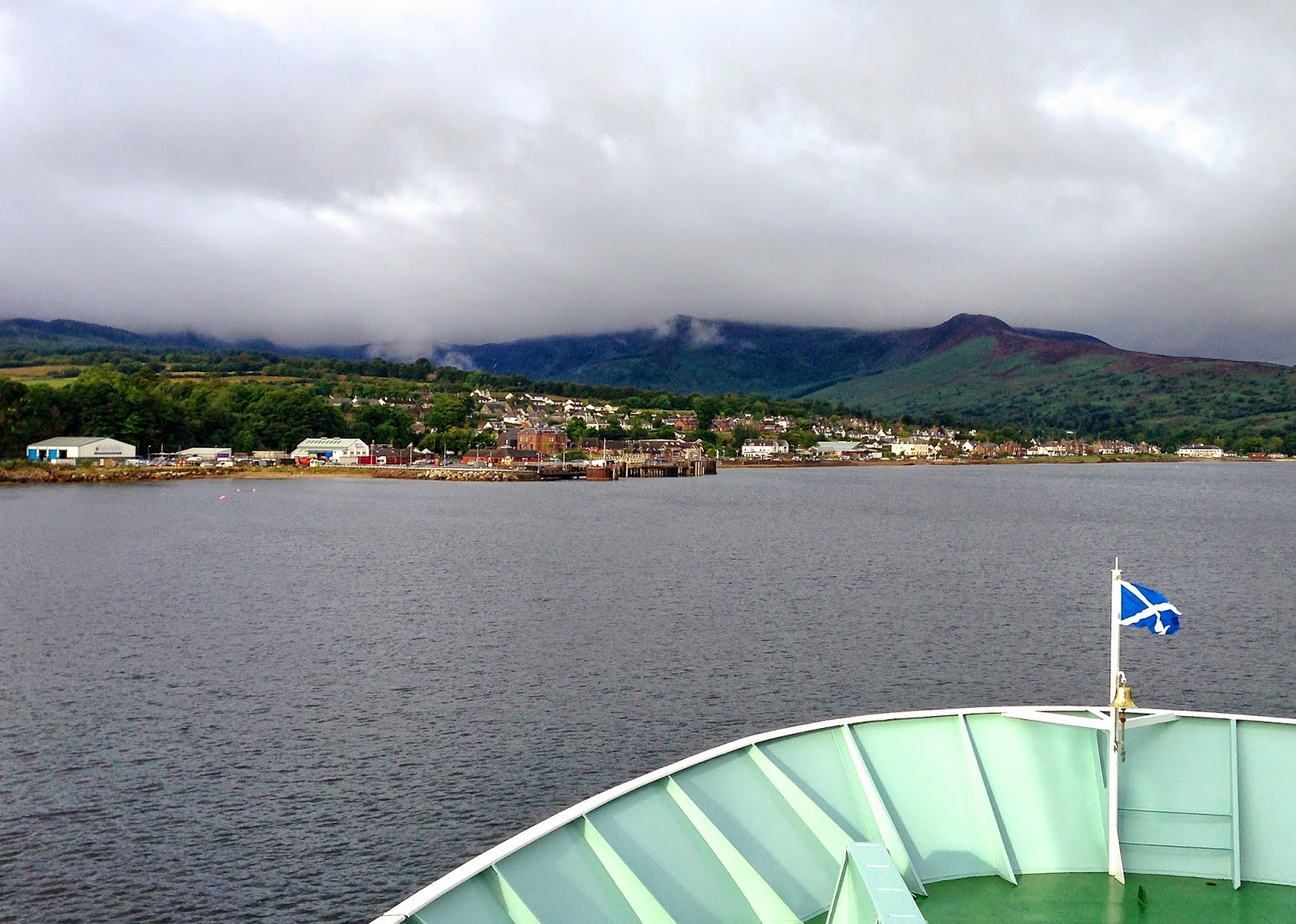 Seaside view of Brodick