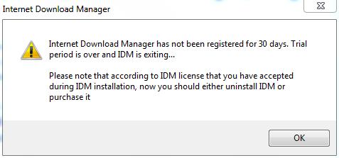 Cara Memperbaiki IDM ( Internet Download Manager ) Yang Minta Registrasi