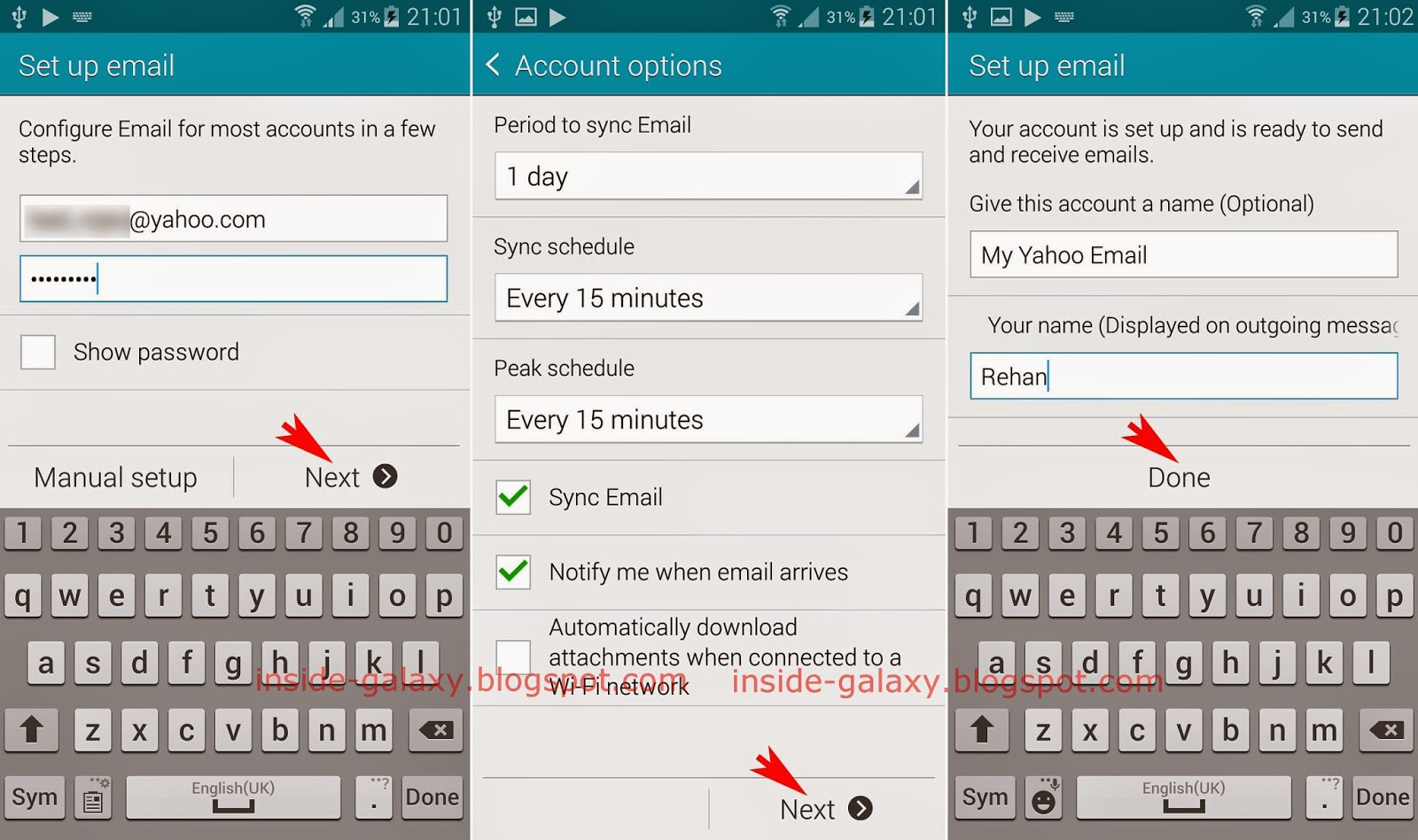 Samsung Email App Forteforic