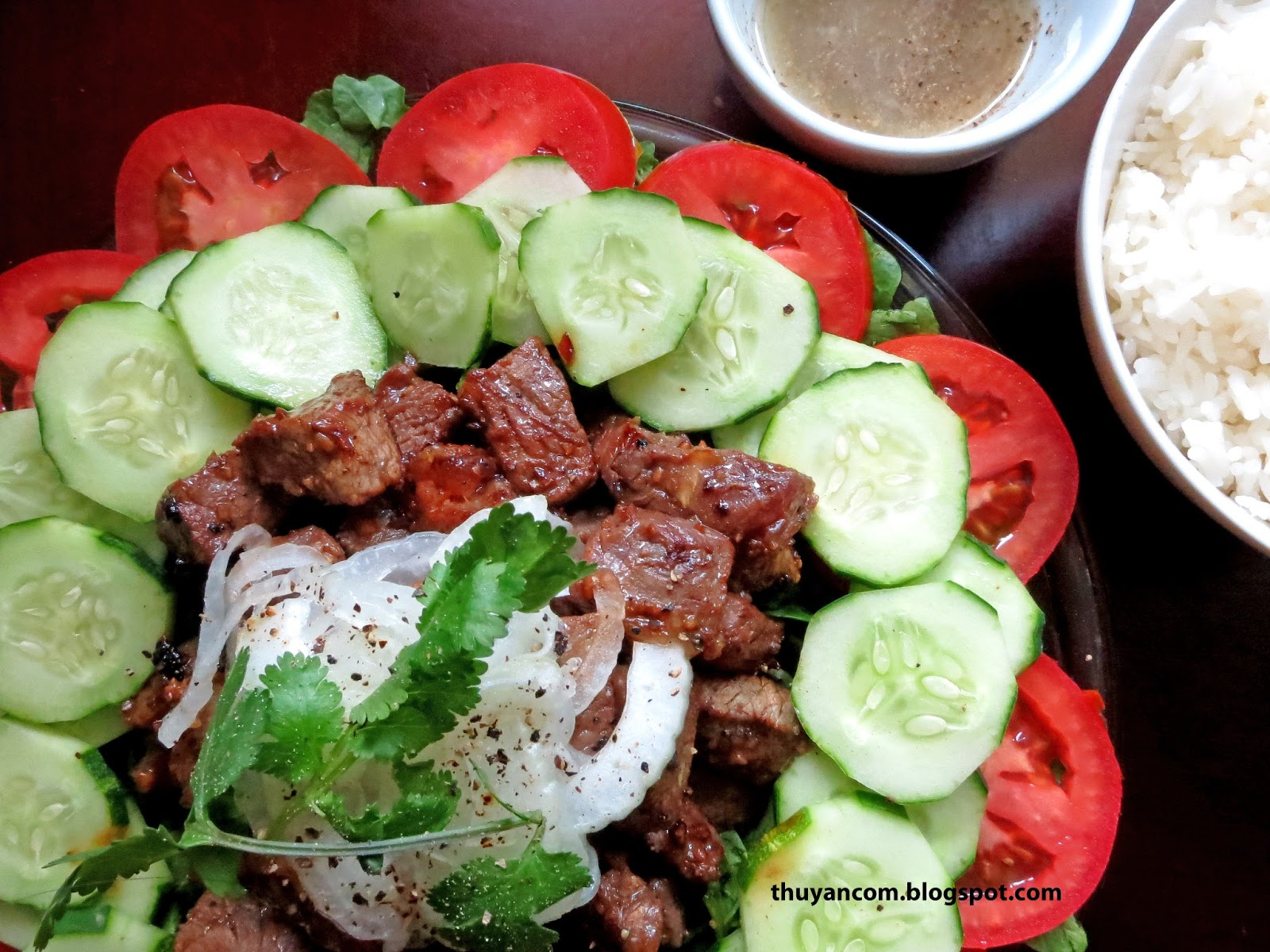 Blog of salt bo luc lac shaking beef bo luc lac shaking beef forumfinder Image collections