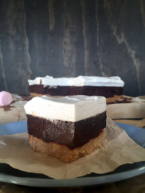 Hot Chocolate Slice Cassie Cakes