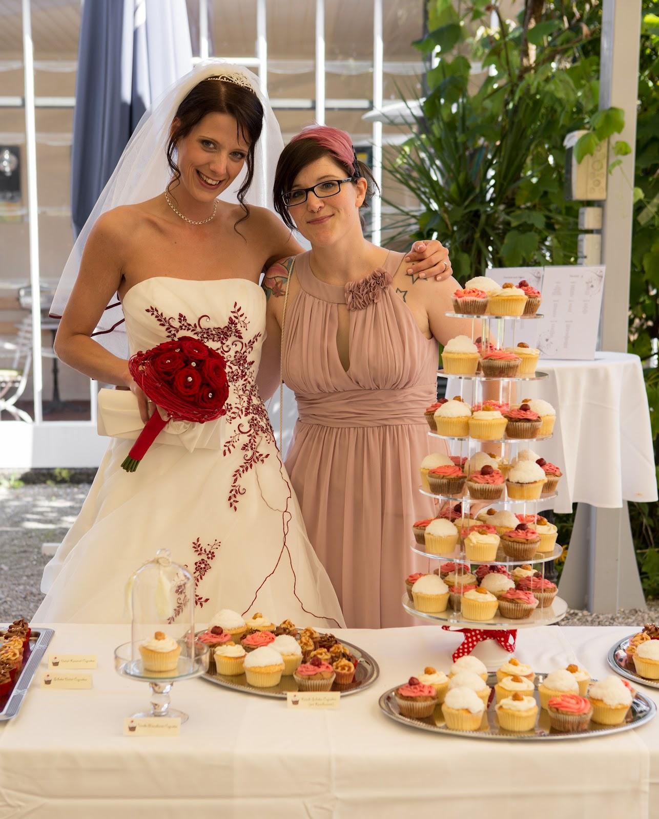 Ein Hochzeits Cupcake Buffet Fur Steffi Und Georg