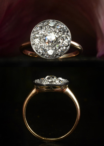 east side bride Seeking An antique engagement ring in EUROPE