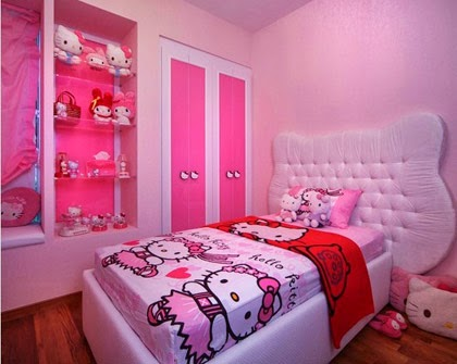 10 desain kamar tidur anak perempuan barbie