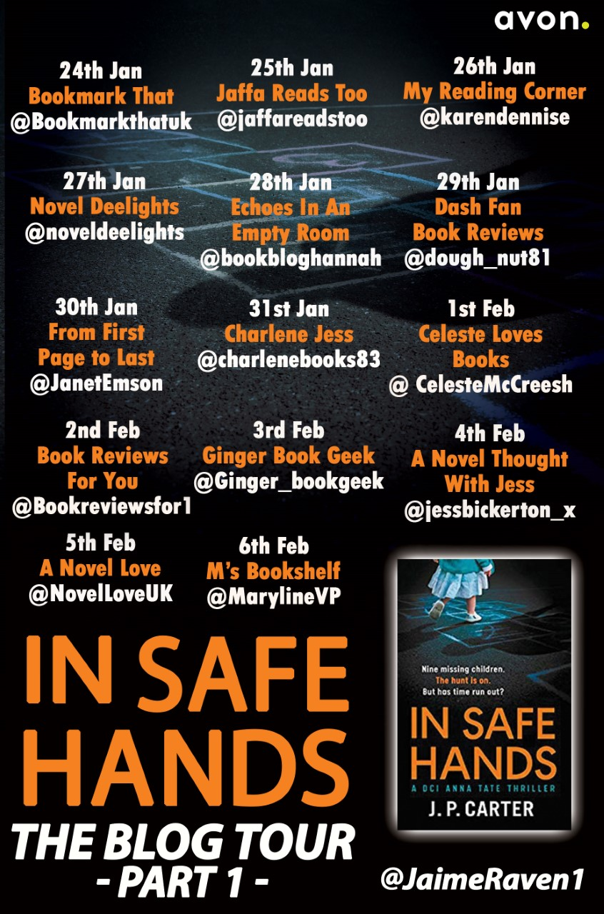 In Safe Hands Blog Tour