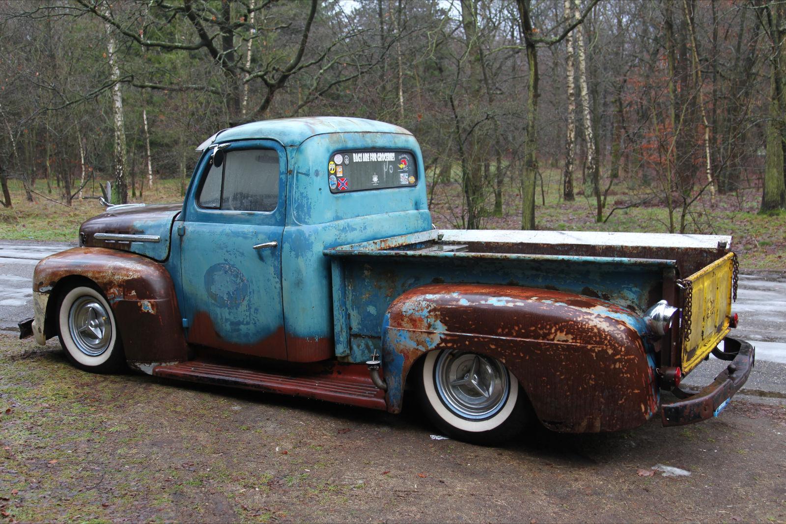 Fprd F Truck Rod City Garage
