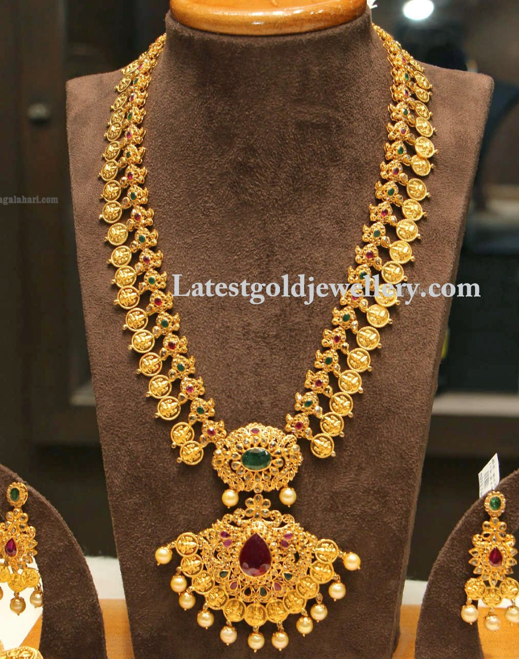 Latest Gold Jewellery Designs: Gold Long Chains