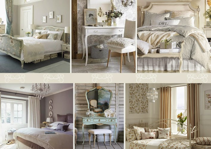 Relas come arredare camera da letto in stile shabby chic for Arredare coi tessuti