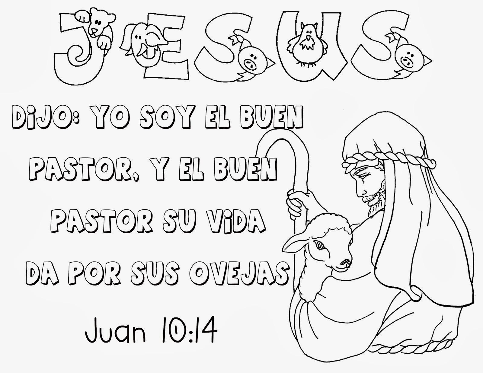 Dibujos Para Colorear Biblicos Para Niños Cristianos ~ Ideas ...