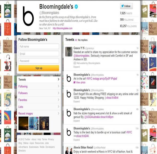 Bloomingdales live chat