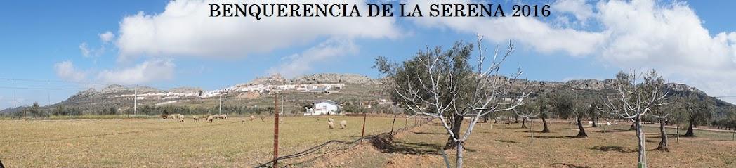 BENQUERENCIA DE LA SERENA 2016
