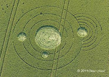Aquí dejo algunas de las últimas figuras en los campos de cultivo durante el 2011