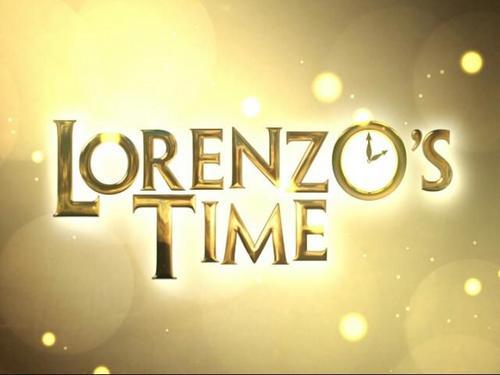 Lorenzo's Time logo/title card
