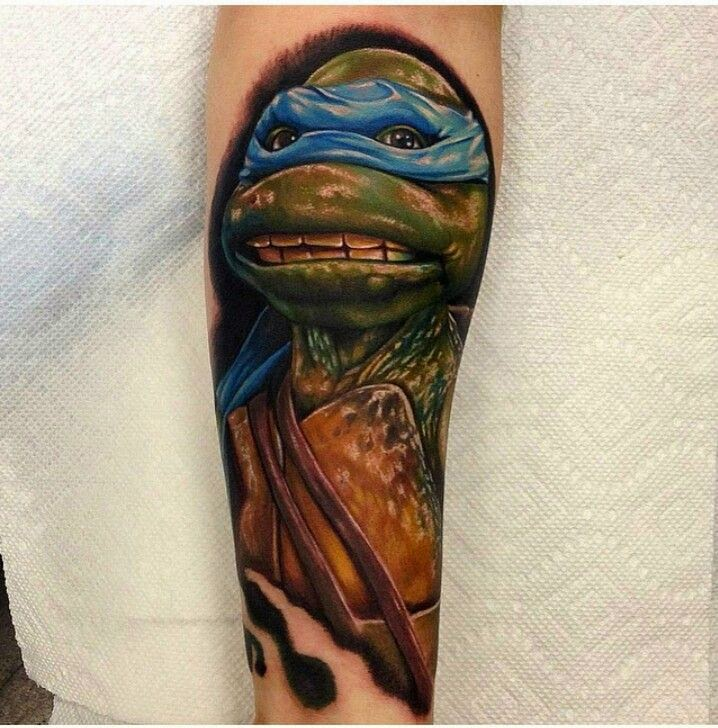 Teenage Mutant Ninja Turtle Tattoo