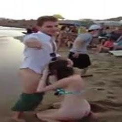 Putaria na Calourada Caiu na Net na Praia - http://www.videosamadoresbrasileiros.com