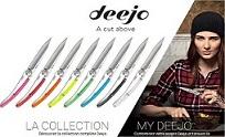 Deejo : couteaux personnalisés