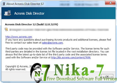 Acronis Disk Director 12.0 Build 3270 Final + Key