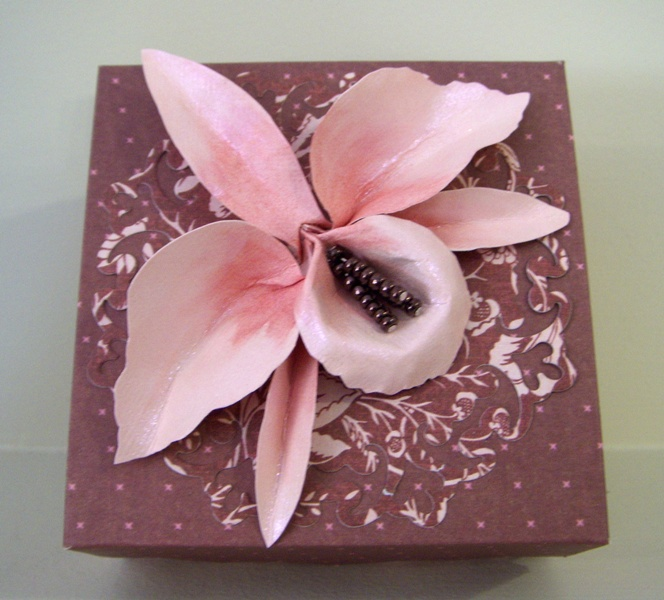 Eureka stamps orchid paper sculpture orchid paper sculpture mightylinksfo