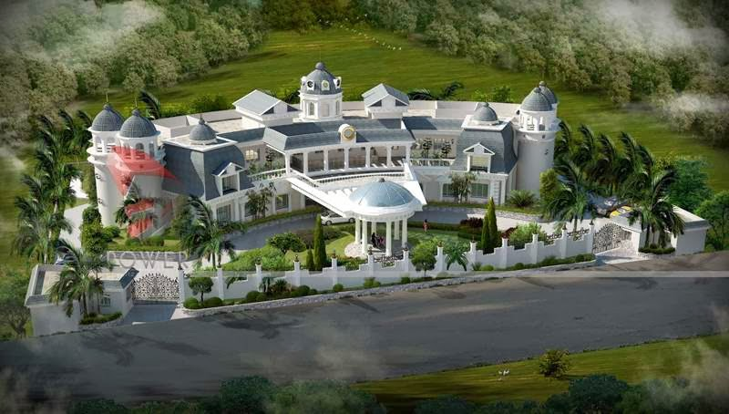 ... bungalow 3d rendering modern bungalow rendering palatial bungalow