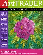 My Art was featured in Art Trade Magazine