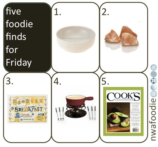 nwafoodie five foodie finds for friday