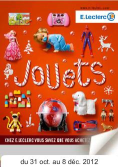 le catalogue des jouets de noël 2012 leclerc est maintenant en ligne ...