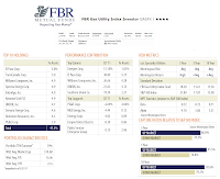 FBR Gas Utility Index Investor Fund (GASFX)