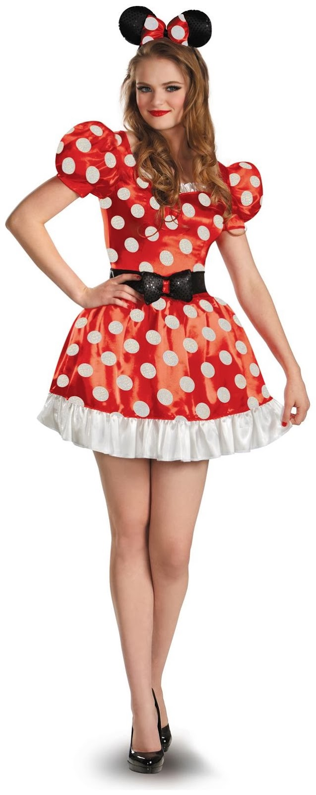 Cute Minnie Mouse Classic Adult Costume