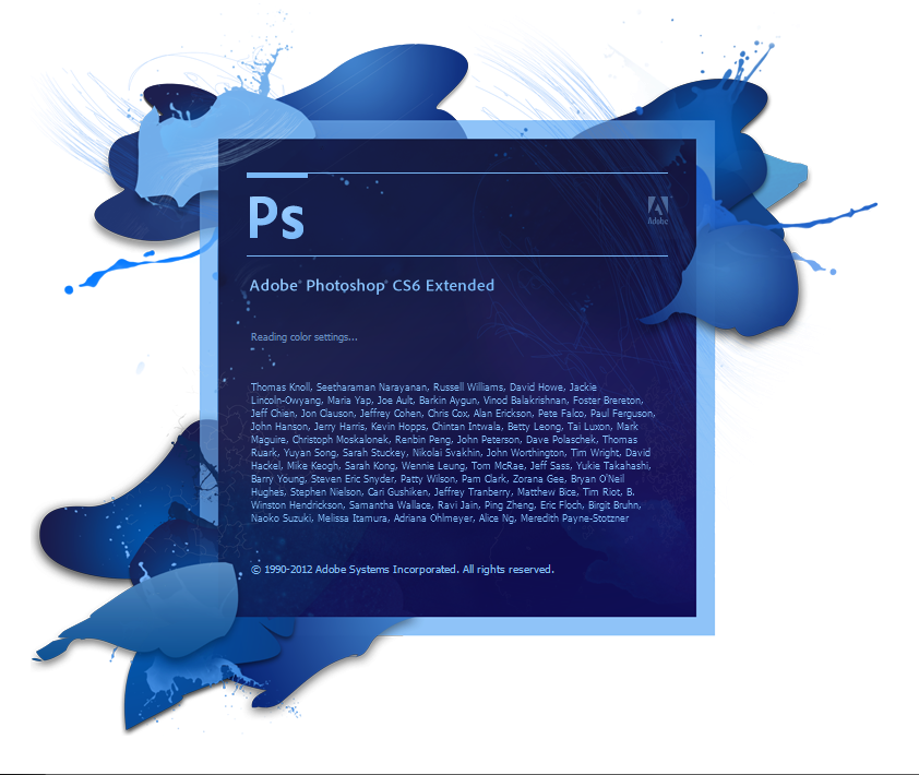 Adobe photoshop (PS) CS6 extended