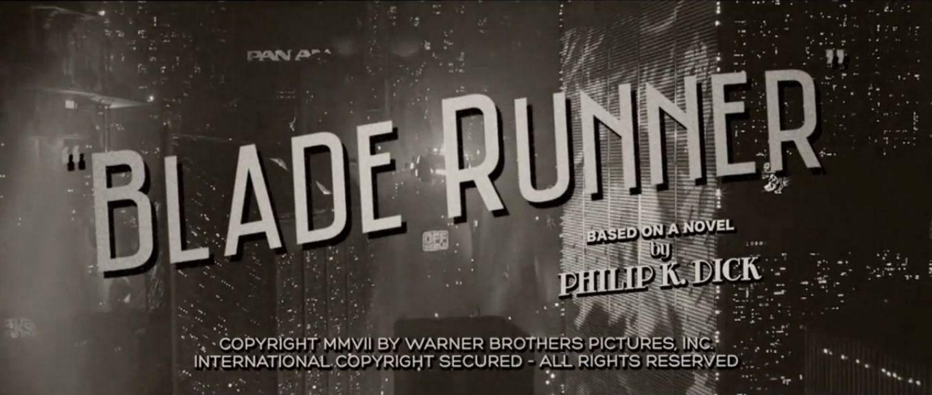 blade runner film noir essay