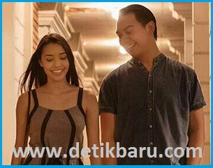 Angel (Annisa Rawles) dan Joe (Chandra Liow) di Film Single