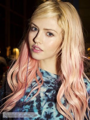 cabellos largos color de pelo 2014 fantasia