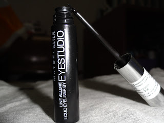 FIRST IMPRESSIONS: Maybelline Eyestudio Line Allure Liquid Eyeliner image