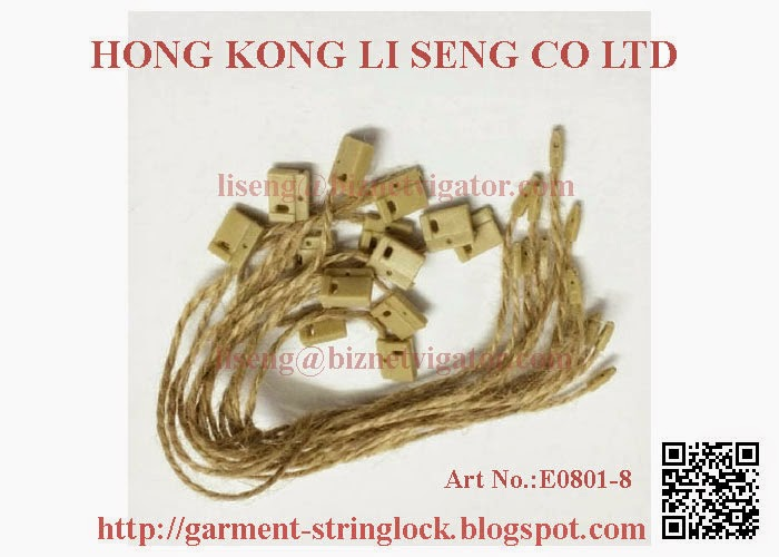 Hemp Rope Hang Tag String Lock Pin Wholesale