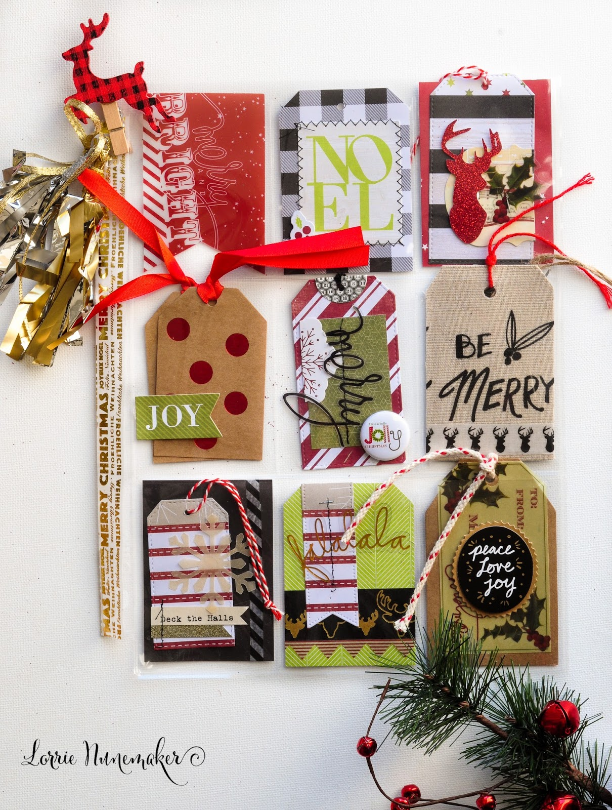 LorrieS Story Christmas Pocket Letters