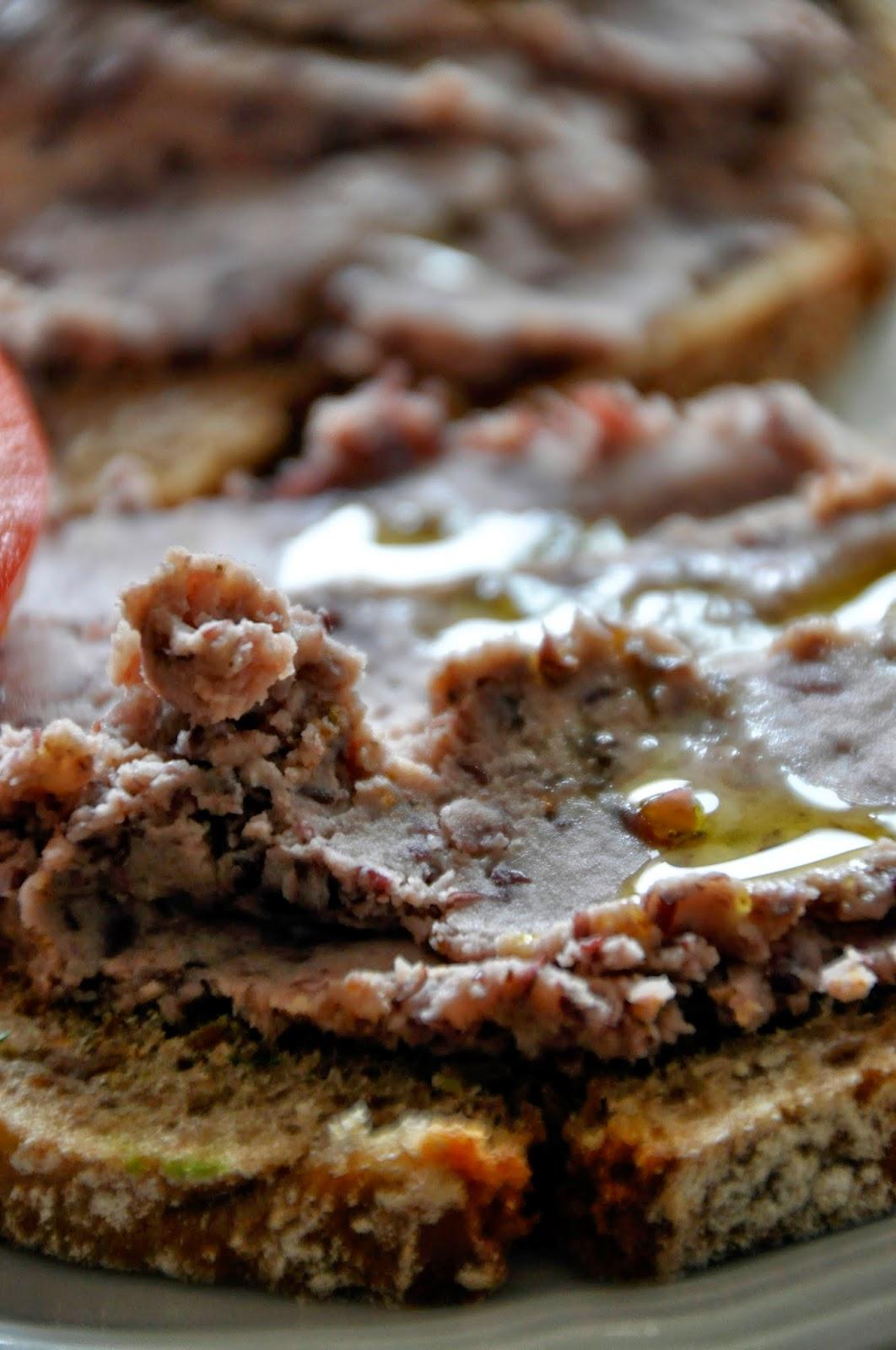 Szybko Tanio Smacznie - Pasta z czerwonej fasoli