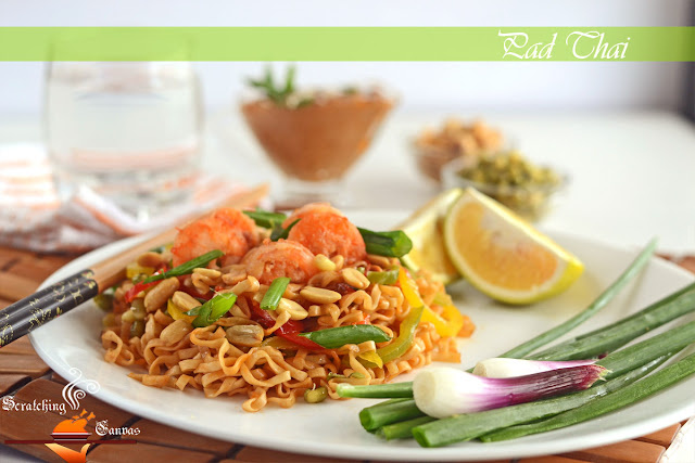 Authentic Shrimp Phad Thai