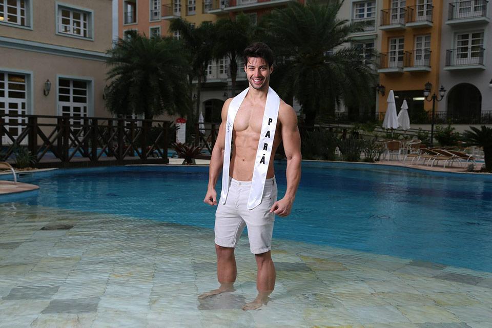Mister Pará - Manoel Netto, 30 anos, 1,84 m - Foto: Leonardo Rodrigues