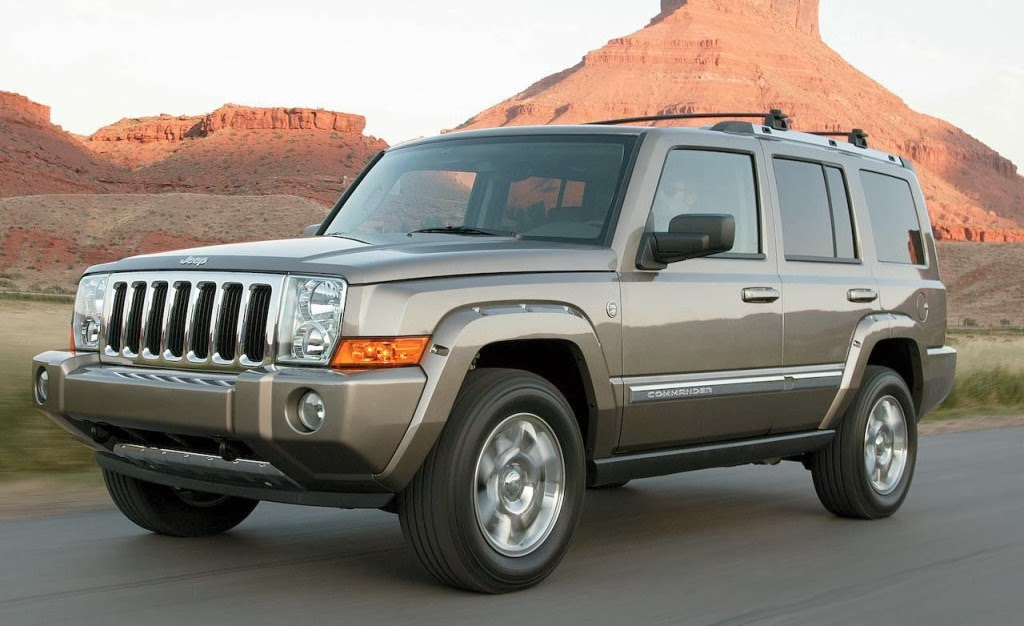 Jeep Commander SUV Images