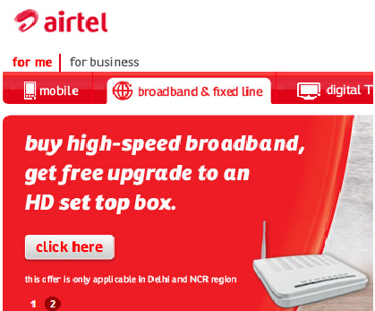 Airtel Wifi Connection Customer Care Number