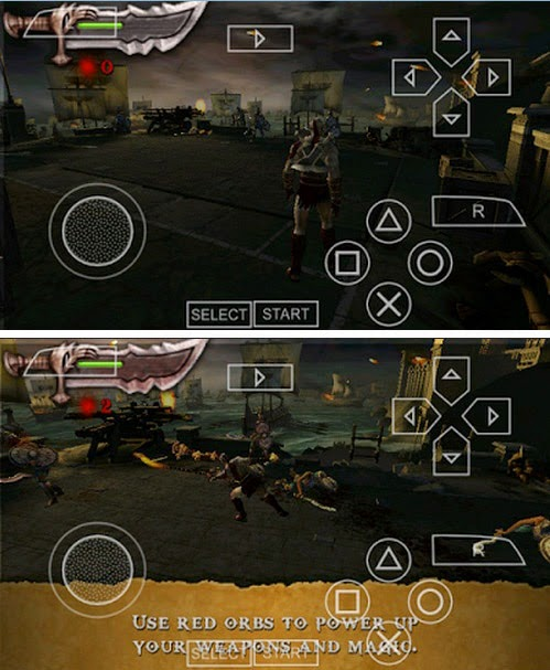 Game God Of War CSO Android