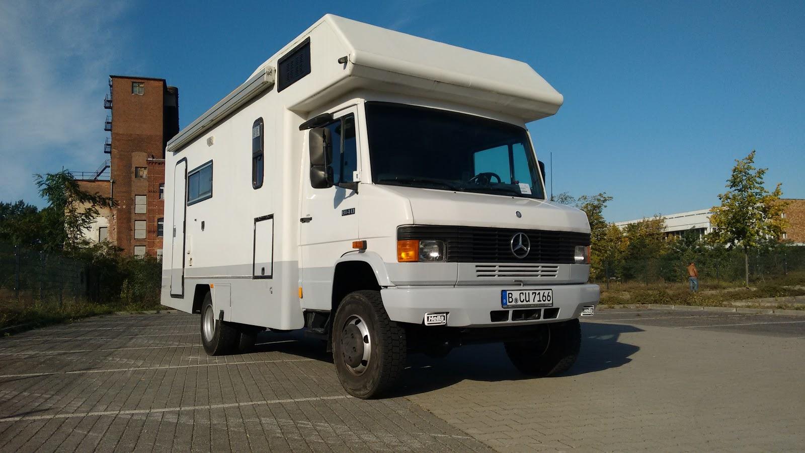 Fahrzeug ruta814 for Mercedes benz vario 4x4 for sale