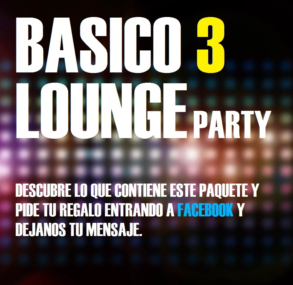 BASICO 3 FULL PARTY LOUNGE