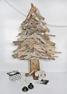 Arboles de Navidad con Madera Reciclada, I Parte