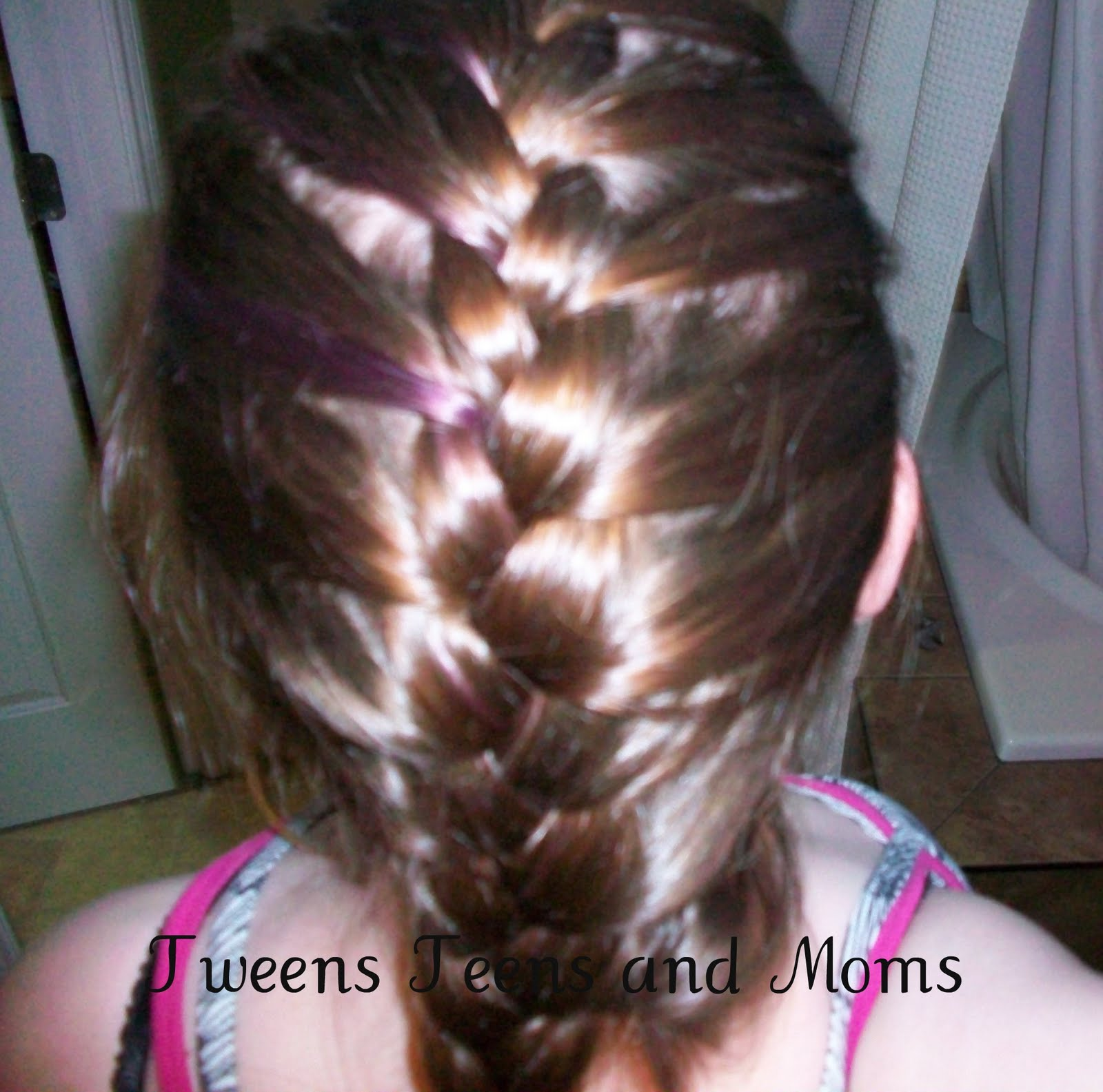Young Girls Updo Underhand Braids Hairstyles